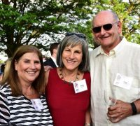 Amy Glazier, Ronna and Moe Hochman