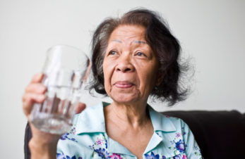 older-adult-woman-drinking-water